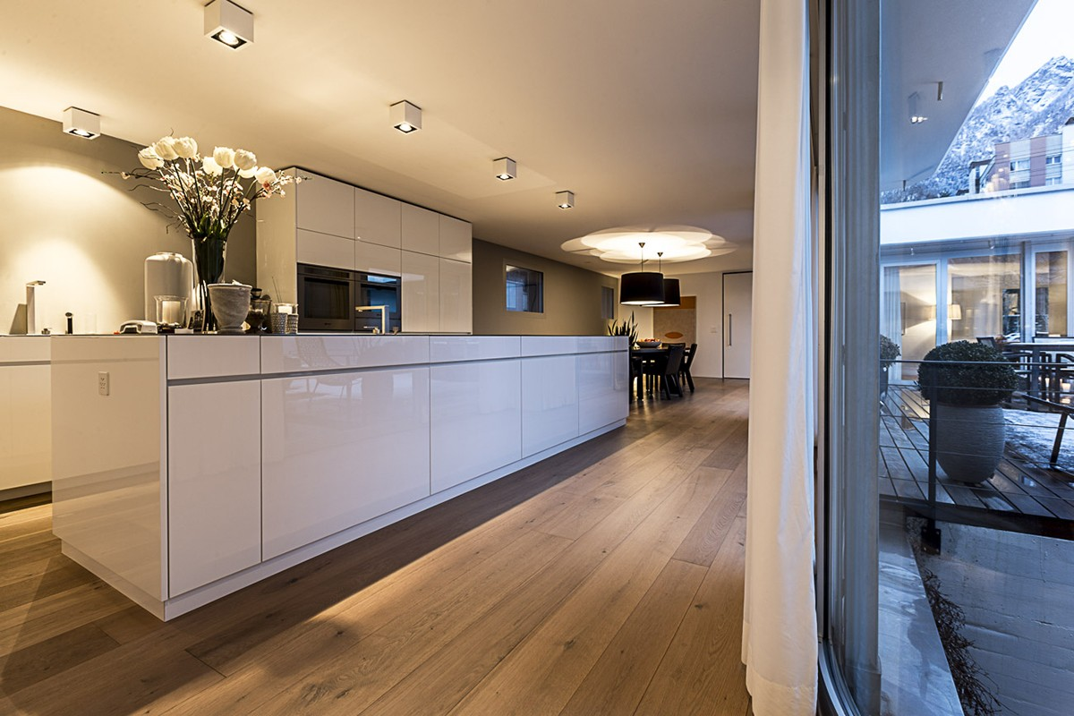 Innenarchitektur Chur emulsion atriumhaus chur